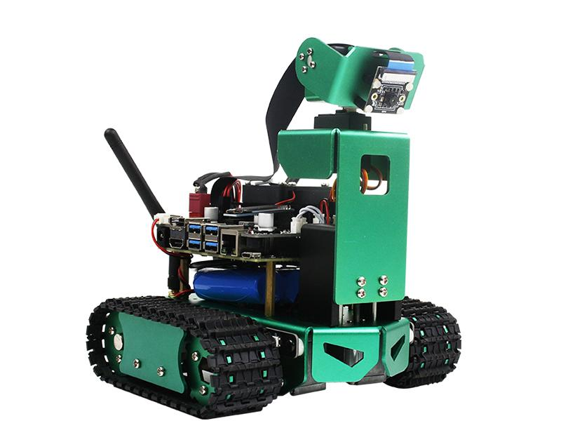 Jetbot AI robot with HD camera coding with Python compatible with 4GB